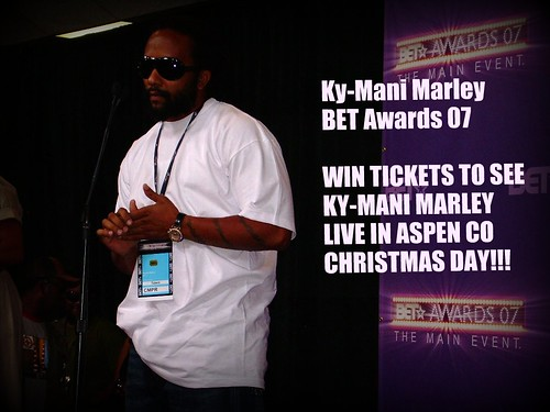WIN TICKETS TO SEE KY-MANI MARLEY