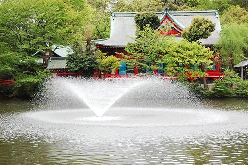Inokashira Park temple
