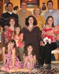 Thanksgiving photo of the whole family