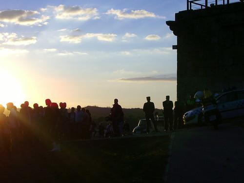Castelo Maceda ocupado
