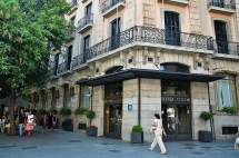 Barcelona Colon Hotel In Front Of