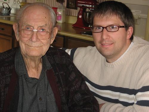 Craig and His 95 Year Old Grandpa