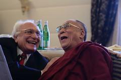 Dalai Lama with Marco Pannella