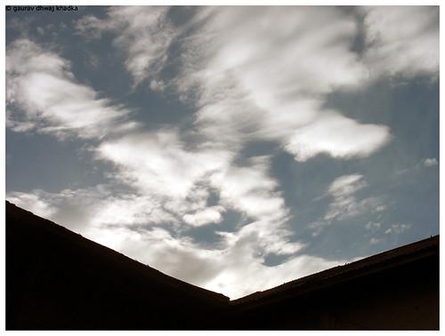 January Sky by Gaurav Dhwaj Khadka