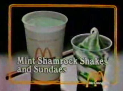 Shamrock Shakes