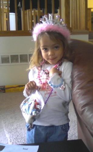 My granddaughter, Queen Isabella!