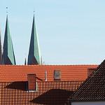 Die Türme St.Lorenz und St.Marien