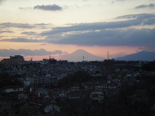 Fujisan from Yokohama