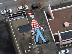 Where's Waldo in Google Maps?