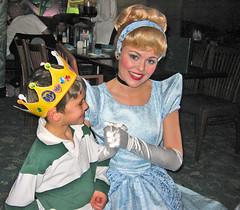 Cinderella @ Ariel's Grotto