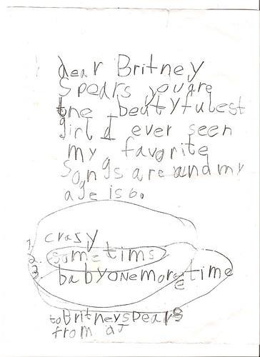 dear britney...