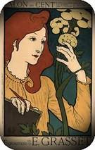 Eugene Grasset. Salon des Cent expo Grasset, 1894.