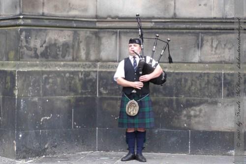 Schottland - Piper