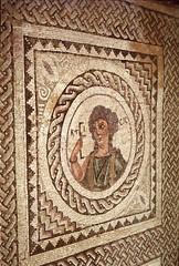 Roman Mosaic near the Amphitheatre