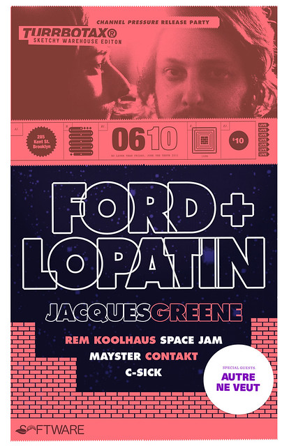 TURRBOTAX® Presents: Ford & Lopatin Release Party, June 10th, 2011