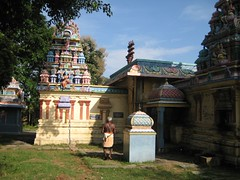 Ambal Shrine vimanam in the Northern side Outer Praharam