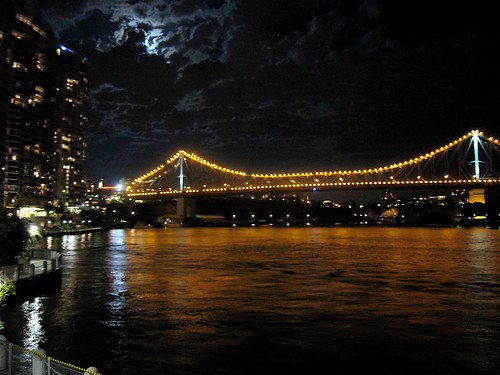 Nighttime at Story Bridge