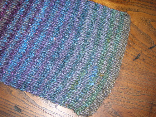 11-02 Noro Scarf cast on