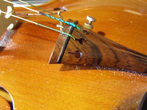 violin restringing woes