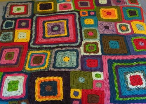 Babette Blanket Panels 1-7