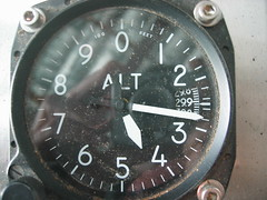 Altimeter that is contected to the roaster