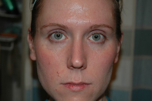 Arbonne Trial: Day One - just put the products on