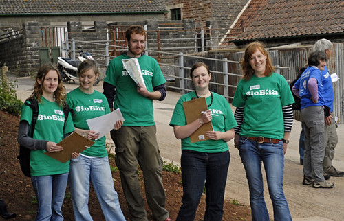 The BioBlitz welcome team