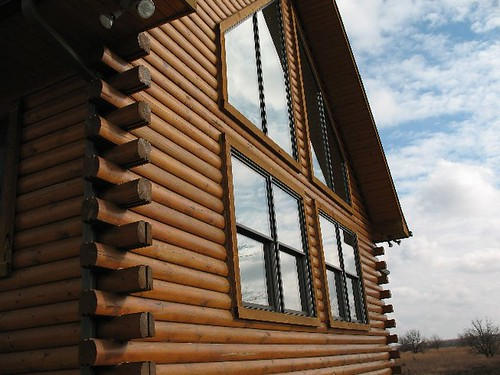 Jan's Log Home in Dexter Kansas