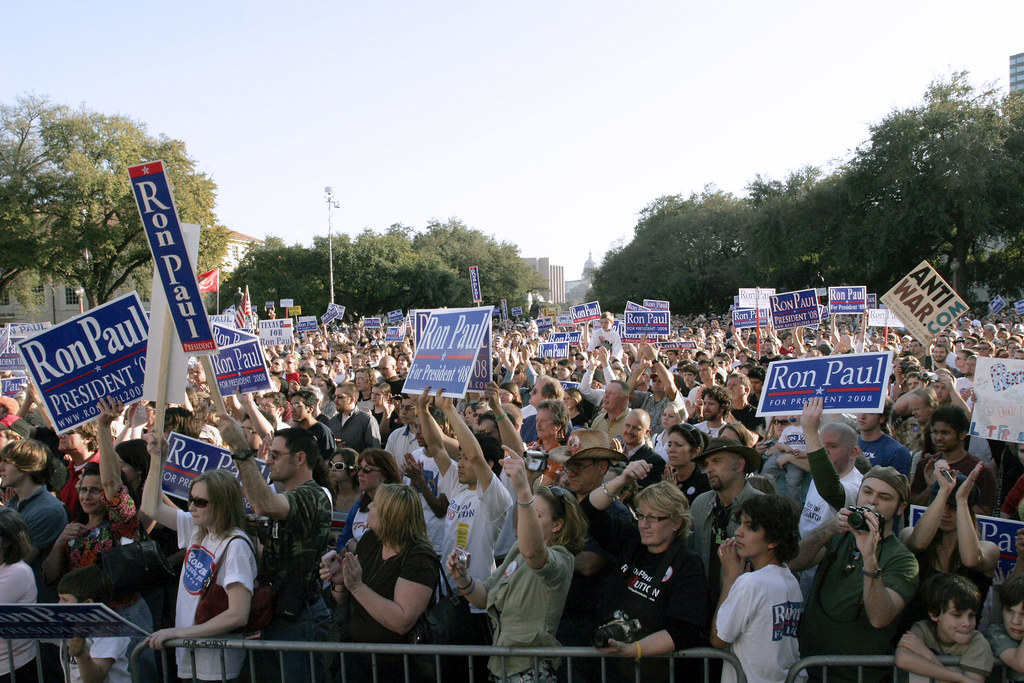 Ron Paul Rally in Austin
