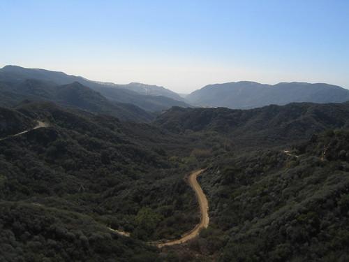 Towards Santa Monica Bay