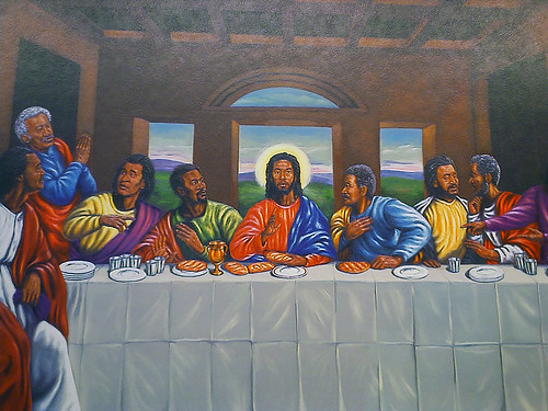 Black Jesus and the Rastafarian Disciples