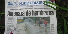 LLuvias, 7 de Octubre 2007