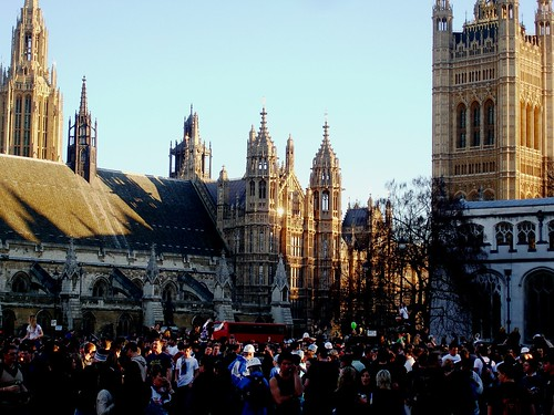 Parliament & so many kiwis