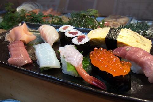 Zushi sushi lunch