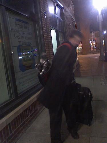 ben has to walk home