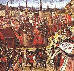 Kreuzzüge - Belagerung Jerusalems