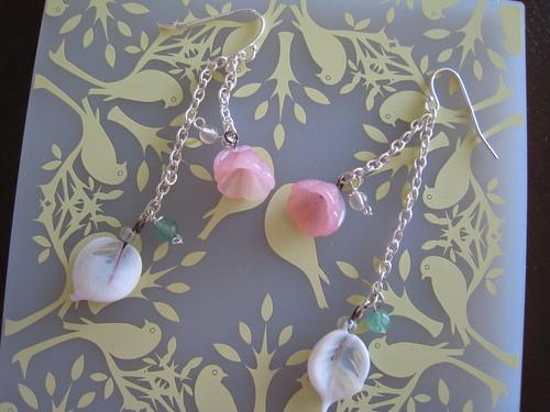 Bead Simple Earrings