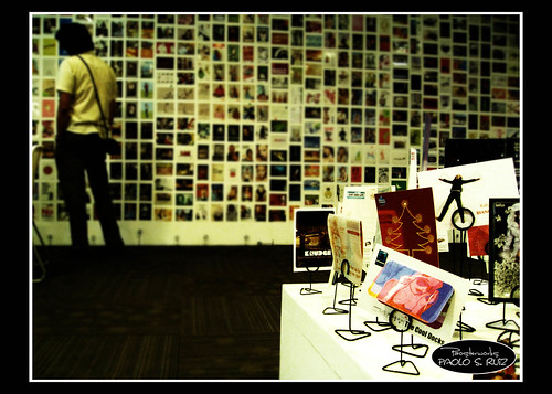 Yo Card Exhibit @ Fully Booked High Street