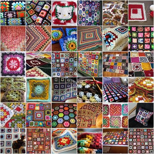 granny squares!