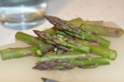 My Aspargus from My GARDEN. Yum.