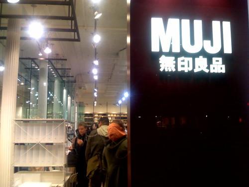 MUJI opening
