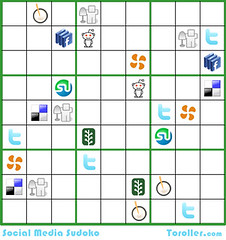 The Social Media Sudoku