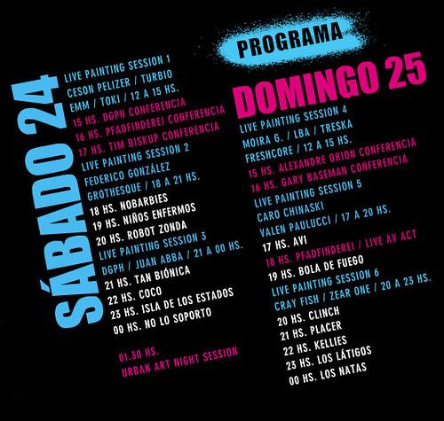 Programa del Festival Puma Urban Art