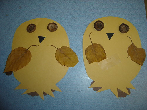 fall owl craft