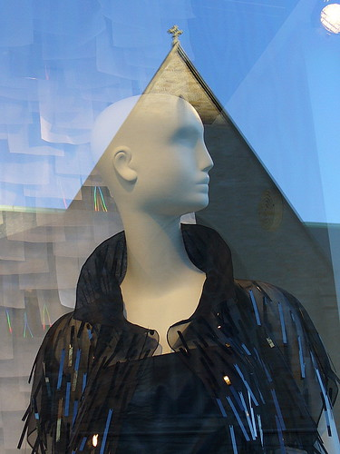 Mannequins and reflections