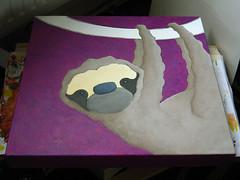 work in progress 20090518 sloth I