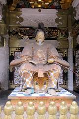 Nikkō: Tōshō-gū - Yōmei-mon - Hideyoshi Toyotomi