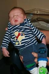 Jesse 2 days old