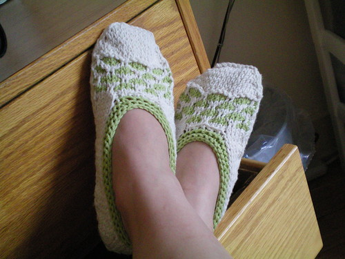 * Cotton slippers!  Very nice!!
