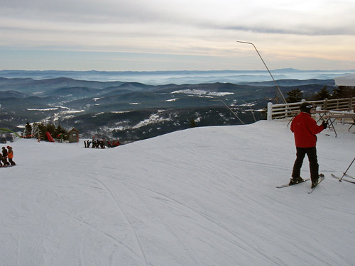 View from the top of Okemo